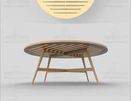 #22 for Design and 3D Render a lounge table by AnwarDM