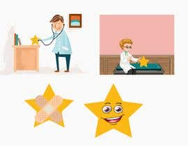 ashswa tarafından Design pictures of doctors and stars for a review services için no 5
