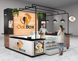 #25 for Design and render a small food space for a mall. af formsouthafrica