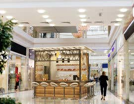 #8 untuk Design and render a small food space for a mall. oleh KikoriaArchitect
