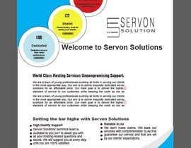 Nro 146 kilpailuun Flyer for servon solutions käyttäjältä PixelDesign24