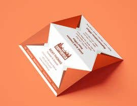 #76 for Design Creative & Trendy One Fold Business Card by hemangk96