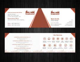 #102 for Design Creative & Trendy One Fold Business Card by Uttamkumar01