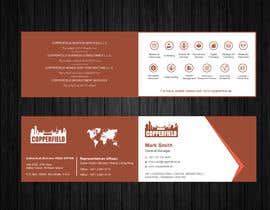 #117 for Design Creative & Trendy One Fold Business Card by Uttamkumar01