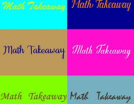 #47 cho I need a logo design for Math Takeaway and an app icon. Math Takeaway is a Math app that students can practise Math questions on-the-go, while travelling to and fro school, etc bởi sharif106