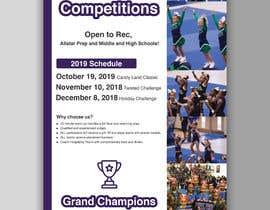 #48 for Cheerleading Event Flyer '19 af mdfaruqhossen