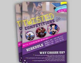 #70 for Cheerleading Event Flyer '19 af tabitaprincesia