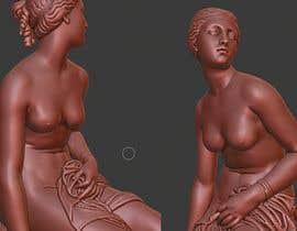 Nro 6 kilpailuun Modify 3d Model of Women sculpture käyttäjältä Khaz2