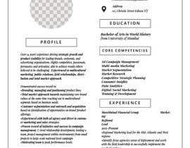 #12 para Creative design for resume por sarimqureshi208