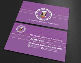 #278 for Create a business card and slogan for my online bakery business. by Jannatulferdous8