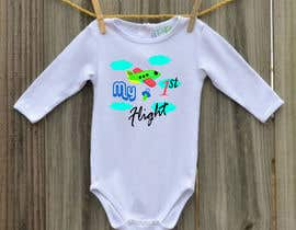 nº 1 pour Designs for baby bodysuits par Marufahmed83