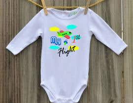 nº 2 pour Designs for baby bodysuits par Marufahmed83