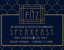 #24 for Speakeasy Invitation af jessicamundo
