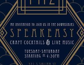 #25 for Speakeasy Invitation af jessicamundo