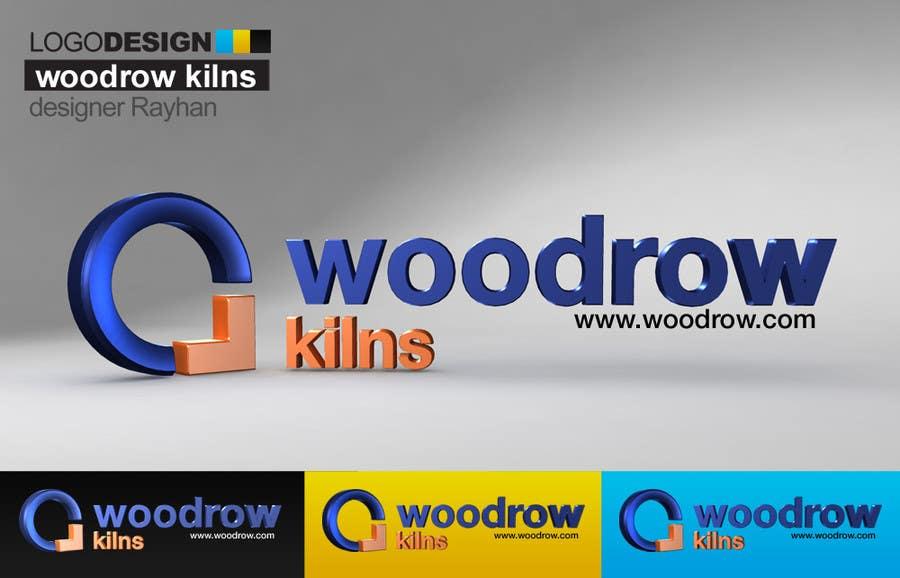 Proposition n°                                        45                                      du concours                                         Logo Design for Woodrow Kilns 3d
