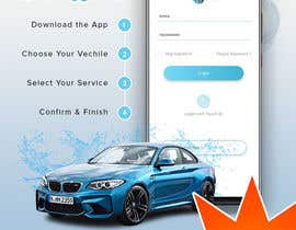 #15 for Building high professional poster for car wash mobile application by slnepal01