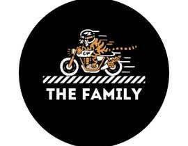 "azzarhm tarafından A logo designed for clothing brand called ""The Family"". Is a motorcycle themed brand. için no 11"
