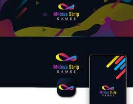 #23 for Mobius Strip Games needs new brand logo, splash screen and website banner by medokhaled