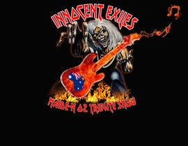 #38 for Create a logo design for our Music group Innocent Exiles - Maide-n Oz Tribute Show af hamzachohan96