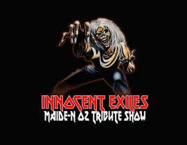 #39 for Create a logo design for our Music group Innocent Exiles - Maide-n Oz Tribute Show af hamzachohan96