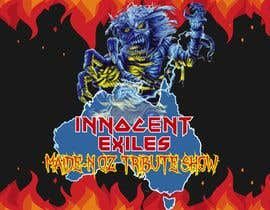 #31 for Create a logo design for our Music group Innocent Exiles - Maide-n Oz Tribute Show af Nennita