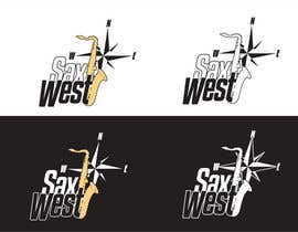 #33 for Logo Design for SaxWest band af arturkh