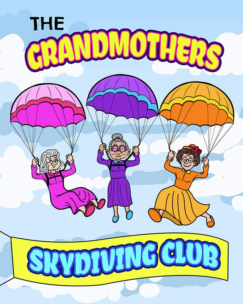 Entry #175 by Artro for Grandmothers Skydiving Club