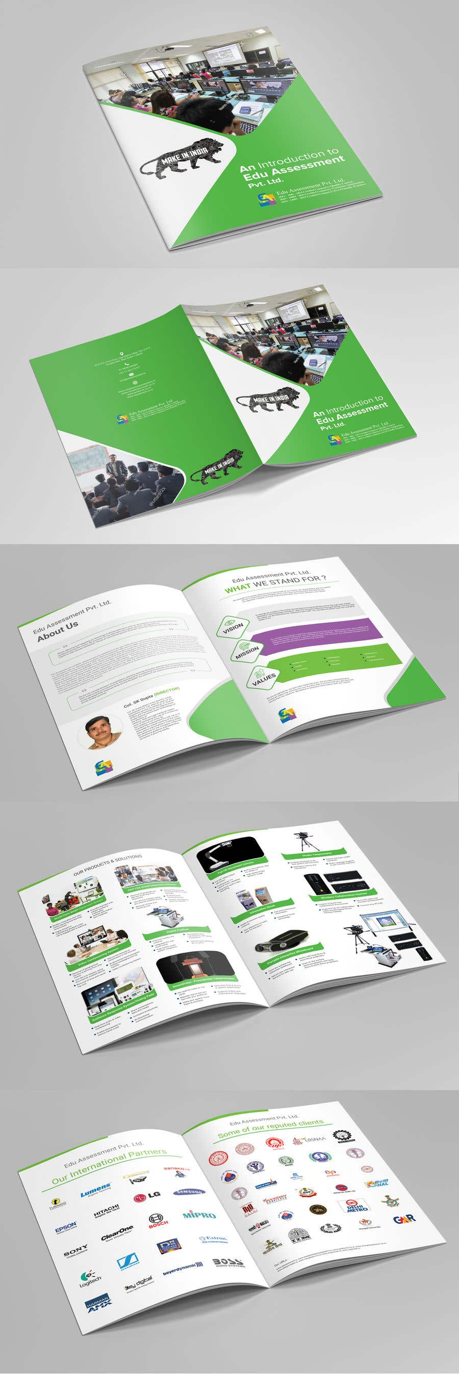 Конкурсная заявка №43 для Re-Design Brochure - Company Profile