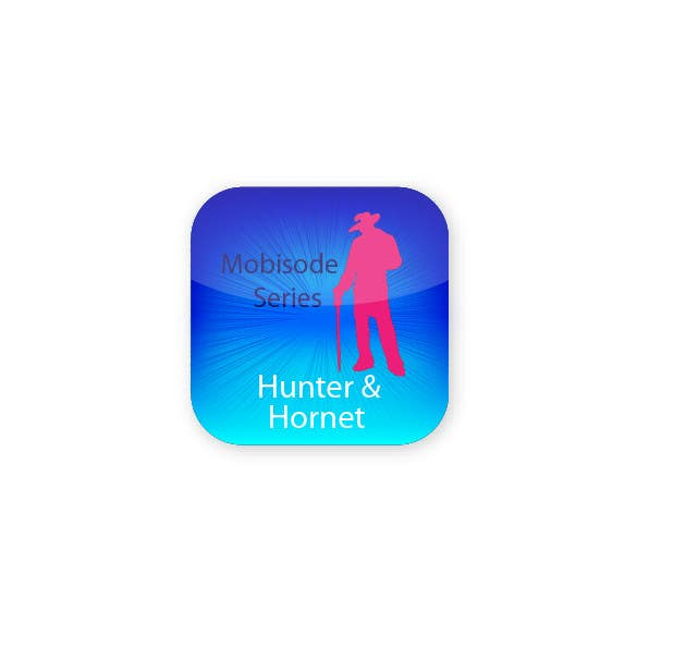 #14 for Icon or Button Design for Hunter n Hornet by monsta182003