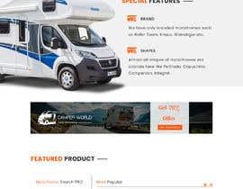 nº 15 pour Design a website for a Motorhome selling company par greenarrowinfo