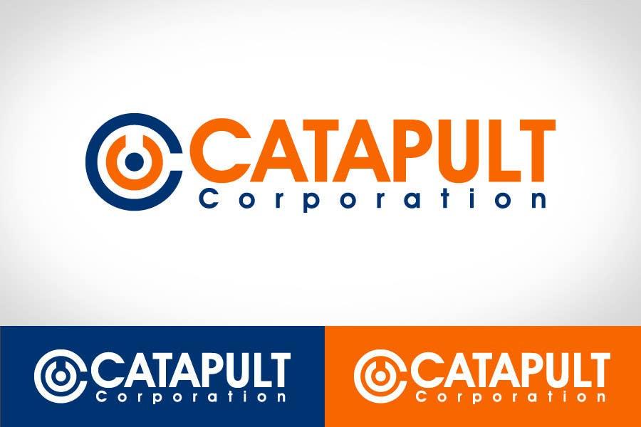 Kilpailutyö #                                        115                                      kilpailussa                                         Logo Design for 'Catapult Corporation'