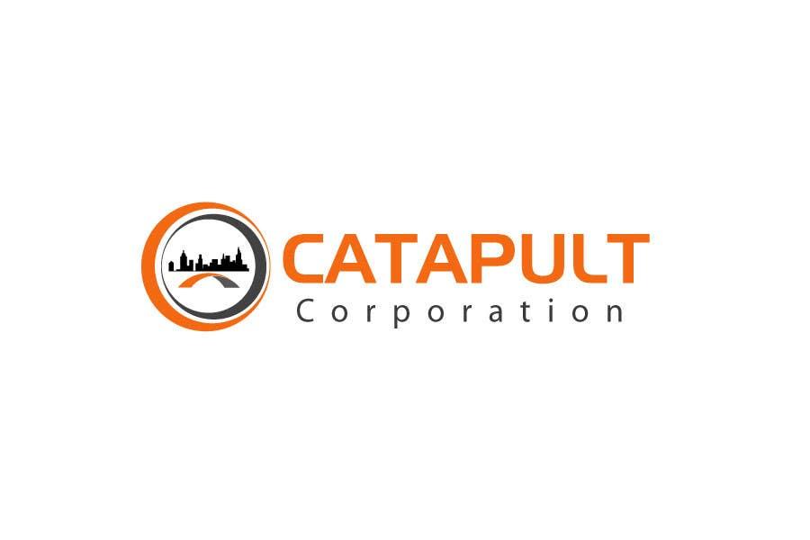 Kilpailutyö #                                        98                                      kilpailussa                                         Logo Design for 'Catapult Corporation'