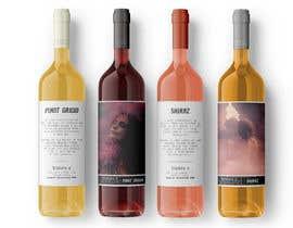 Nro 93 kilpailuun Wine label design käyttäjältä cutterman
