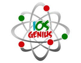 #14 para Logo Design for iOS Genius por skydelacruz