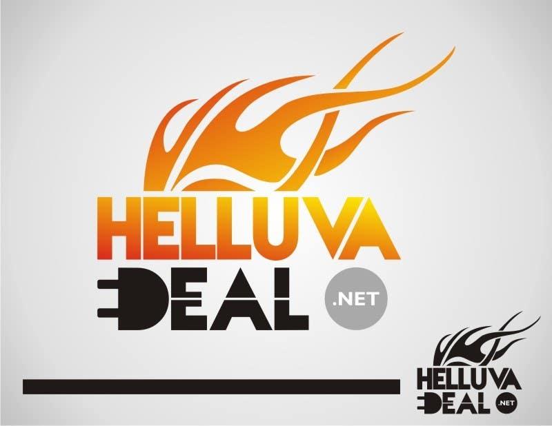 Конкурсная заявка №263 для Logo Design for helluva deal