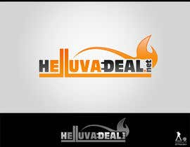 #198 para Logo Design for helluva deal por paalmee