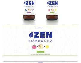 #30 cho Logo & package design: kombucha brand bởi kalaja07