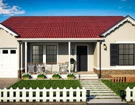 #61 cho 3D Renderings House Front Elevation bởi jandejesus