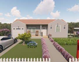 #64 cho 3D Renderings House Front Elevation bởi PolyArchi