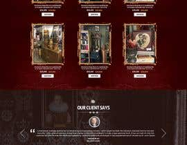 #19 for Home Page Mockup For Antique Store Website by nikil02an