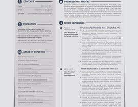 #20 for Update my Resume Design by aishajawed