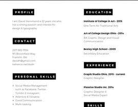 #11 for Update my Resume Design by Nurbasyirah