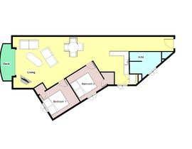 Nro 18 kilpailuun Re-design an apartment käyttäjältä kimlonggsvietnam