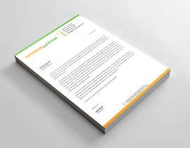#11 for Create a US corporate letterhead Word Template by abdulmonayem85