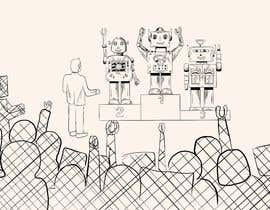 #24 untuk Robots on the podium winning Gold/Silver/Bronze Medals oleh AleksandarVamp
