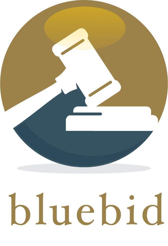Inscrição nº 14 do Concurso para BlueBid Logo ideas