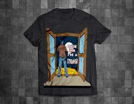 ashikurrahman32 tarafından T shirt Design for Game Streaming or live streaming in general için no 37