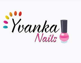 #30 untuk Ontwerp een Logo for YvankaNails oleh francodelera