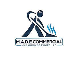 anik750 tarafından Need logo done for Cleaning Business. Company name is M.A.D.E Commercial Cleaning Services LLC. Company cleans offices in commercial buildings such as banks, daycares, doctor offices, corporate offices, schools.  Vacuums, brooms and mops are used. için no 28