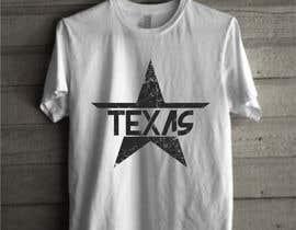 Nro 284 kilpailuun Texas t-shirt design contest käyttäjältä rahman09abd